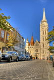 Church of Mathias Rex in Budapest Stock Photo