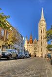 Church of Mathias Rex in Budapest Stock Photo