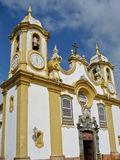 Church Matriz de Santo Antonio - Tiradentes Stock Photography