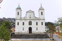 Church Matriz de Sao Luis fa Paraitinga Fotografia Stock Libera da Diritti