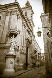 Church in Mdina, Malta Royalty Free Stock Photo