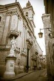 Church in Mdina, Malta Royalty Free Stock Photo