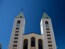 Church of Medjugorje Royalty Free Stock Photography