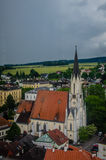 Church in Melk, Austria. Stock Photography