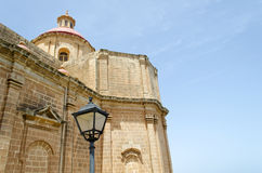 Church in Mellieha Stock Images