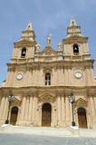 Church in Mellieha Royalty Free Stock Photography