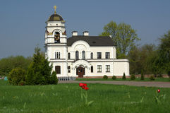 The church in the memorial complex in Brest, Belarus Stock Images