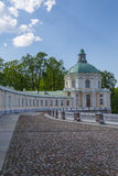 Church of Menshikov palace in Oranienbaum. Grand Menshikov Palace facade. St.Petersburg area, Lomonosov, Oranienbaum, Russian Federation Stock Images
