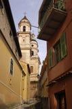 Church of Menton, French Riviera, Royalty Free Stock Photo