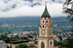 Church in Merano stock photography