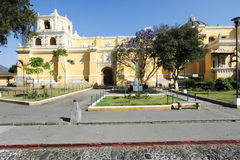Church of Merced at Antigua Stock Photography