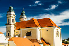 Church Of Merciful Brothers,Valtice,Czech Republic Stock Image