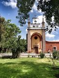 Church in Mexican Hacienda Royalty Free Stock Photos