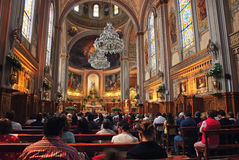 Church in Mexico City Royalty Free Stock Photography