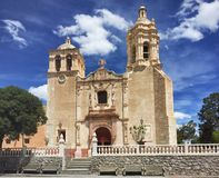 Church in mexico Stock Photos