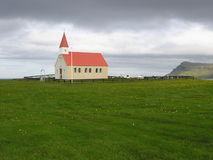A church in the middle of nature Stock Photo
