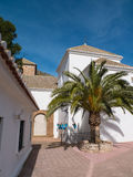 Church in Mijas Royalty Free Stock Photo
