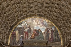 Church of milan Stock Photos