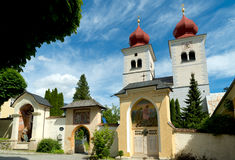 Church in millstatt, austria Royalty Free Stock Photos