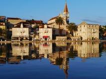 Church in Milna on Brac island in the Adriatic sea of Croatia Royalty Free Stock Image