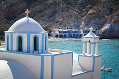 Church at  Milos island Royalty Free Stock Photography