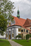 Church in Minorite Monastery, Cesky Krumlov Royalty Free Stock Images