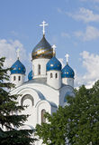 Church in Minsk. Orthodox church in Belarus, Minsk Stock Images