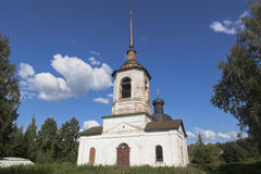 Church of the Miracle of Michael the Archangel on the Gorodische in Veliky Ustyug Stock Image