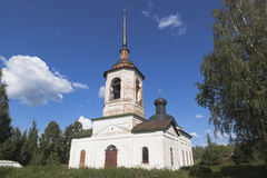 Church of the Miracle of Michael the Archangel in Honeh in Veliky Ustyug Royalty Free Stock Photo
