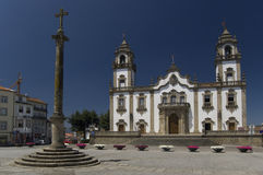 Church of Misericordia, Viseu. Royalty Free Stock Image