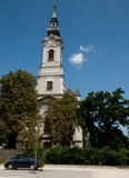 Church in Miskolc Royalty Free Stock Photography