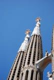 Church modernist Barcelona Stock Image