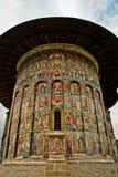Church in Moldova. A church, part of the Sucevita Monastery, in Moldova, Romania Stock Photography