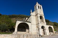 Church of Molinaseca Stock Photo