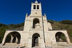 Church of Molinaseca Royalty Free Stock Photos