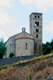 Church of Molllo.Catalonia Royalty Free Stock Image