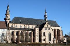 Church of Molsheim in Alsace Stock Photos