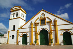 Church in Mompos, Colombia Royalty Free Stock Images