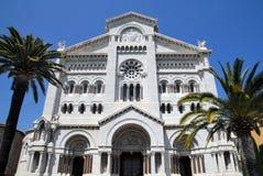 Church in Monaco Stock Image