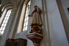 Church in hammelburg Royalty Free Stock Photography