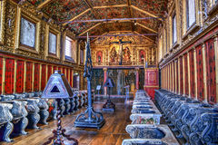 Church of monastery of Jesus in Aveiro Royalty Free Stock Image