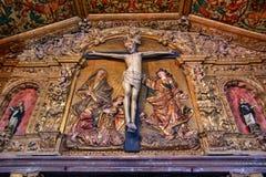 Church of monastery of Jesus in Aveiro Stock Photography