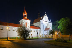 Church and monastery in Krasnobrod Royalty Free Stock Photography