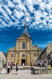 Church of the monastery of Saint-Michel Stock Image