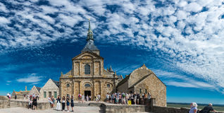 Church of the monastery of Saint-Michel Royalty Free Stock Photography