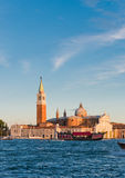 The church and monastery at San Giorgio Maggiore Royalty Free Stock Images