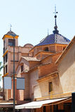 Church and Monastery of Santa Clara la Real. Murcia Stock Photography