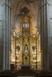 Church of the Monastery of Santa Maria la Real de Najera, La Rio Stock Photos