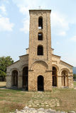 Church in monastery Sopochanin stock images