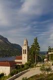 Church and Monastery Sveti Nikola in Korcula Royalty Free Stock Image